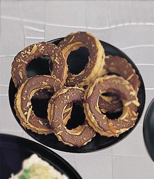 ChocolateAndAlmondRingCookies
